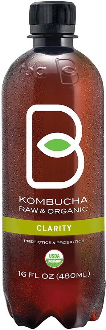 Вода B-Tea Clarity на основе зеленого чая с добавлением мелиссы