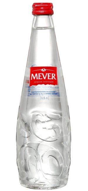 Вода Mever стекло негаз. 0