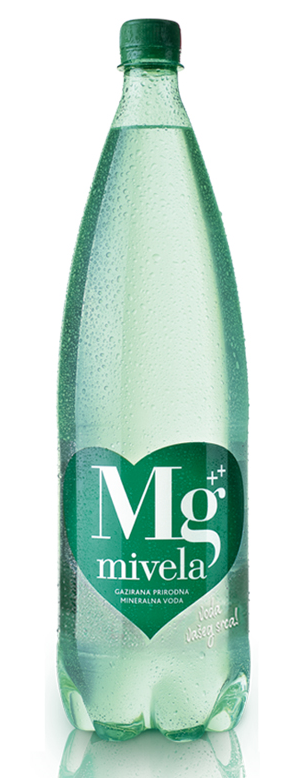 Вода Mg Mivela