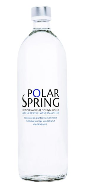Вода Polar Spring |Полар Спринг стекло негаз. 0.75л уп