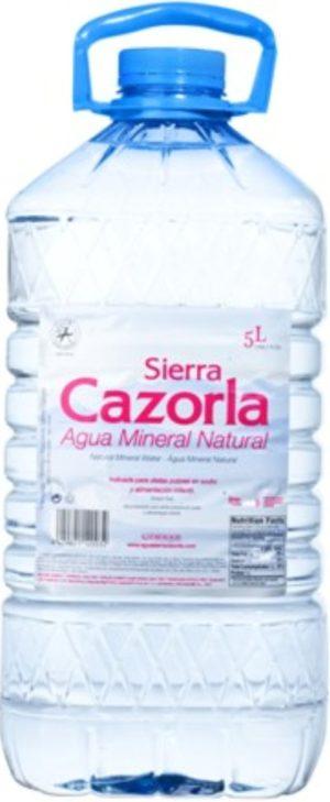 Вода Sierra Cazorla
