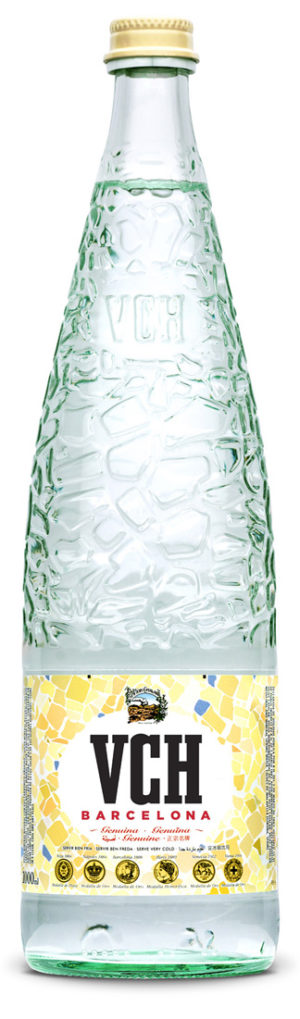 Вода VCH Barcelona стекло газ. 1 л