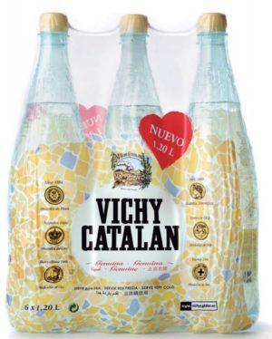 Вода VCH Barselona пластик газ. 1